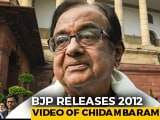 Video : Trolled Over Old Video Of NPR, P Chidambaram Shoots Back Tweets At BJP