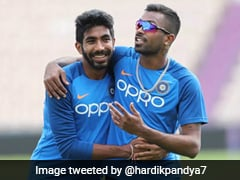 Jasprit Bumrah And Hardik Pandya