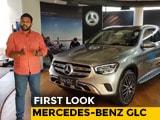 2019 Mercedes-Benz GLC Facelift First Look