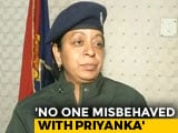 "Video : ""Did My Duty"": UP Cop Denies Manhandling Priyanka Gandhi"