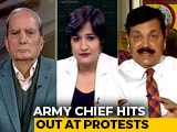 Video: Army Chief's Comments Spark Controversy