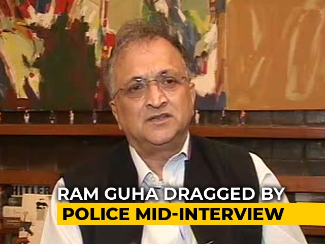 """Video : """"Paranoid, Insecure Regime"""": Ramachandra Guha, Detained During Protests"""