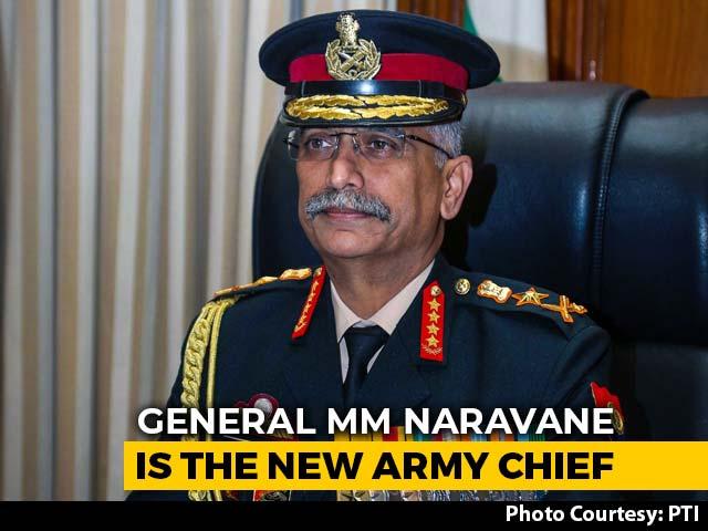 Video : General Manoj Mukund Naravane Takes Charge As New Army Chief