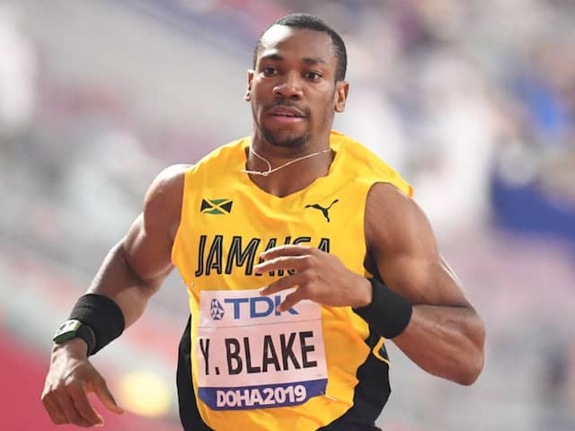 """Sprint Legend Yohan Blake Wants To Feature In IPL For """"Either KKR Or RCB"""""""