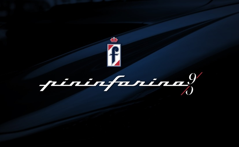 The new Pininfarina logo comes with the number