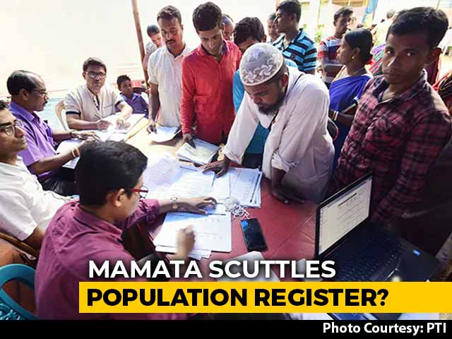 Video : Bengal Stops Work On National Population Register Amid Citizenship Row