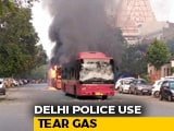 Video : Violent Clashes In South Delhi Over Citizenship Law, Cops Use Tear Gas