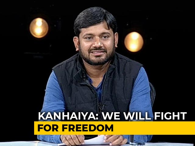Video : Attempt To Snatch Citizenship From People, Says Kanhaiya Kumar To NDTV