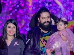 Trending: Pics From Yash And Radhika Pandit's Daughter Ayra's 1st Birthday