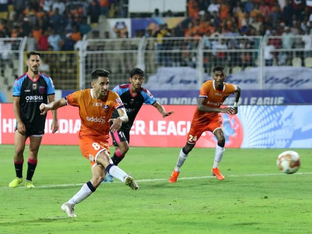 ISL: FC Goa Go Top Of Points Table With 3-0 Win Over Odisha FC