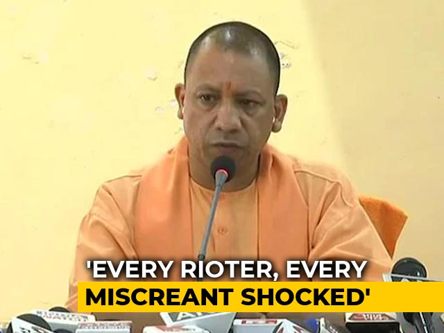 "Video : ""Shocked Every Protester"": Yogi Adityanath Justifies UP Crackdown"
