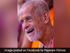 Pejavara Mutt Chief Vishwesha Teertha Swami Dies At 88