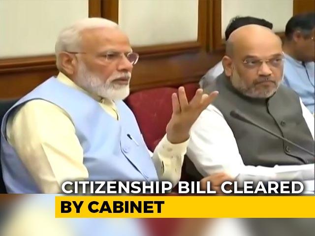 Video : Citizenship (Amendment) Bill Cleared By Union Cabinet