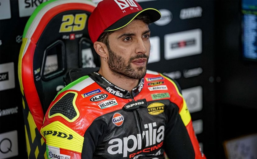 Andrea Iannone has been provisionally suspended after testing positive for an anabolic steroid.