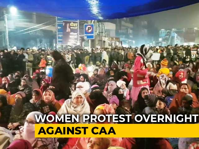 Video : Women Brave Biting Cold For Sit-In Protest Since December 15 In South Delhi