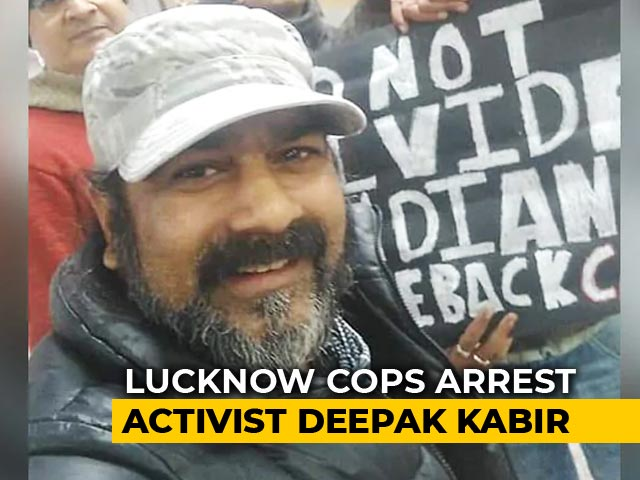 "Video : ""No FIR Copy"", Says Family Of UP Artist Arrested For Citizenship Protest"