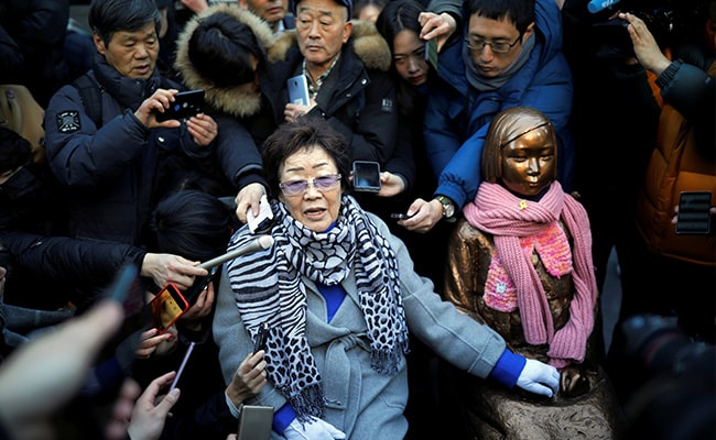 Documents Show Japan Army Demanded 1 'Comfort Woman' Per 70 Soldiers In Wartime: Report
