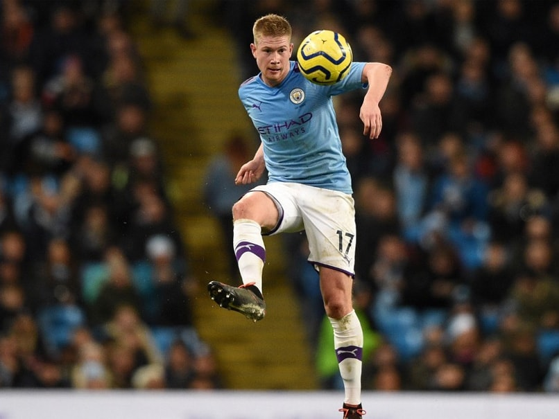 """Spectacular"" Kevin De Bruyne Helps Man City End Leicester Citys Unbeaten Run"