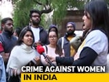Video : Telangana Rape And Murder: Delhi University Students Express Anger