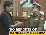 "Video : ""Will Evacuate AMU Campus Today, Send All Home"": UP Top Cop After Protest"