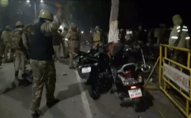Act Against Cops Who Smashed Bikes At Aligarh University Protest: High Court