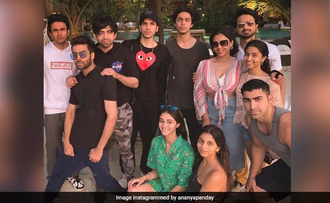 Inside Suhana Khan, Aryan, Ananya Panday's Early New Year Party At Shah Rukh's Alibaug Home
