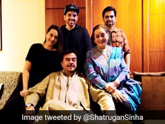 """Warm Birthday Wishes For Sonia Gandhi"": Shatrughan Sinha And Family"