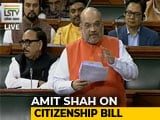 "Video : Citizenship Bill ""Grants Rights, Doesn't Snatch It"", Says Amit Shah"