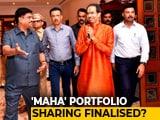Video : Maharashtra Portfolio Talks Almost Done, Shiv Sena May Get Home: Sources
