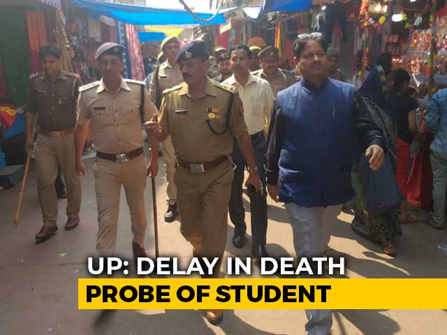 Video: Police Chief In UP Town Removed Over 'Inaction' In Girl's Death Case
