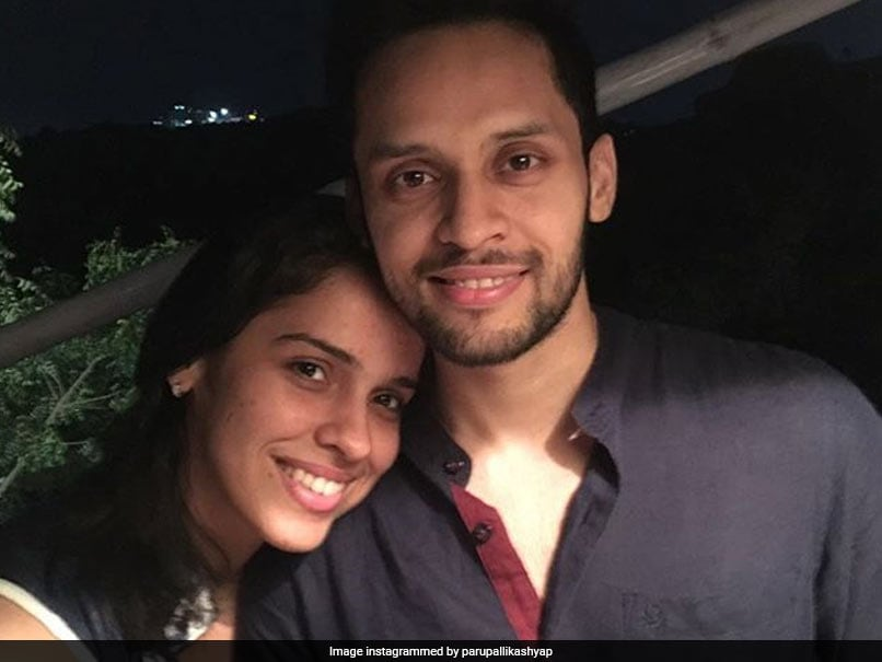 """""""Couldnt Ask For Better Wife"""": Parupalli Kashyap Wishes Saina Nehwal On 1st Wedding Anniversary"""
