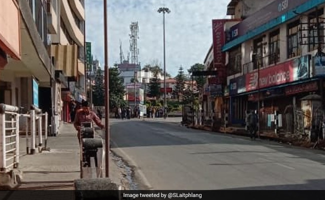 Curfew Imposed In Shillong From 10 PM On Saturday