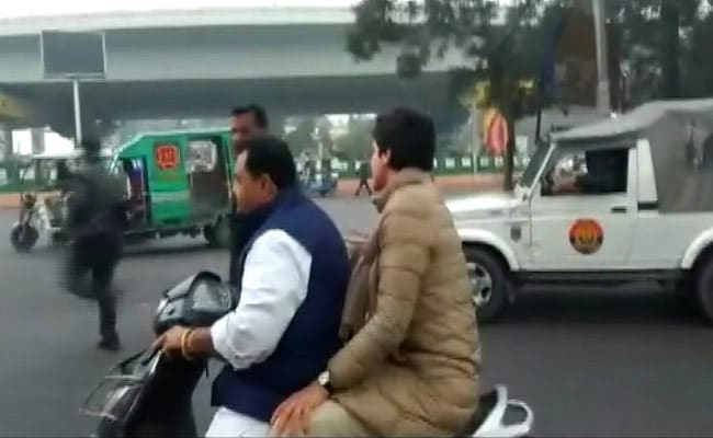 'Will Pay Myself': Scooter Owner On Challan After Priyanka Gandhi's Ride
