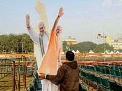 PM Modi To Launch BJP's Delhi Poll Campaign Today At Mega Rally