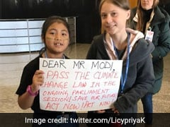 8-Year-Old Activist Licypriya Kangujam, Dubbed India's 'Greta', A Star At COP25 Global Climate Summit