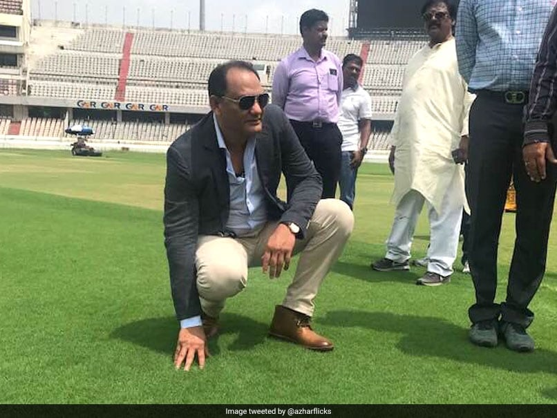 India vs West Indies: Mohammad Azharuddin Stand To Be Inaugurated Before Hyderabad T20I