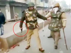 "Video Suggests UP Cop Opened Fire In Kanpur, Contrary To ""No Police Firing"" Claim"