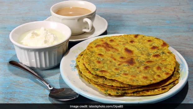 This Diabetes-Friendly Breakfast of Broccoli Paratha And Dahi Will Have You Drooling!