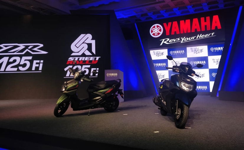 Yamaha Ray-ZR 125 FI Unveiled In India