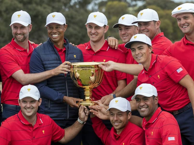 Tiger Woods Leads United States Presidents Cup Fightback To Crush Ernie Els Dream