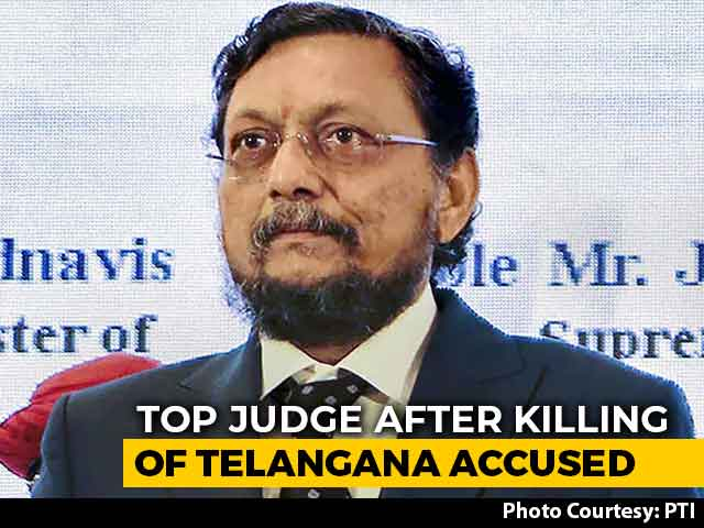 """Video : """"Justice Can't Be Instant"""": Top Judge After Killing Of Telangana Accused"""