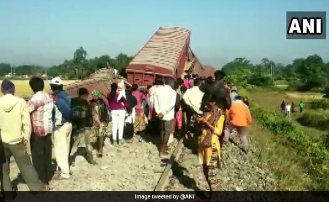 Train Services Disrupted In Assam After Goods Train Derails In Tinsukia