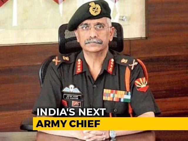 Video : Lt Gen Manoj Mukund Naravane To Be Next Army Chief