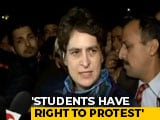 "Video : ""Crackdown On Students Is An Assault On Soul Of India"": Priyanka Gandhi"