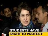 "Video : ""Crackdown On Students Assault On Soul Of India"": Priyanka Gandhi Vadra"