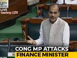 "Video : ""<i>Nirbala</i>, Not Nirmala"": Congress Leader's Dig At Minister Over Economy"