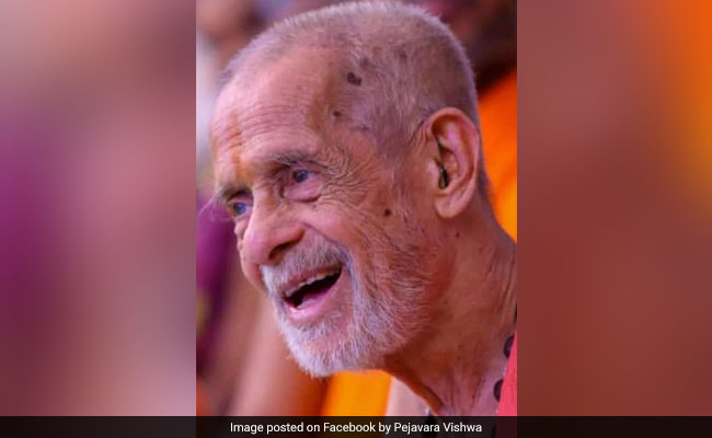 Pejavara Mutt Chief Unconscious, Continues To Be On Life Support: Doctors