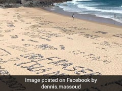 Tourists Left Lewd Messages On Beach. How Clean-UP Was Done