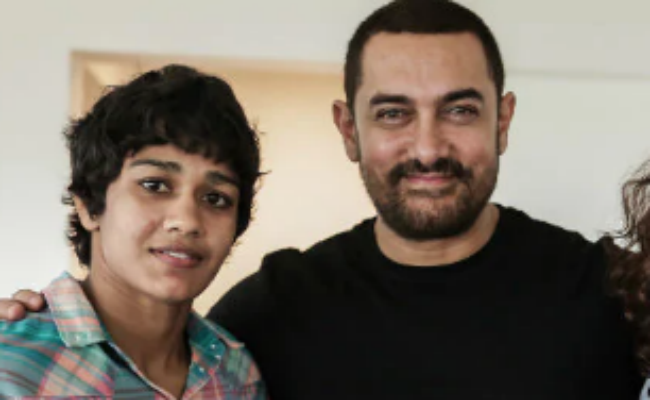 Dangal Actor Aamir Khan Congratulates Wrestler Babita Phogat On Her Wedding