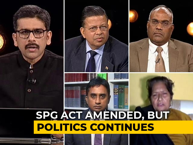 Video : The SPG Debate: Entitlement, Threat Perception And Politics